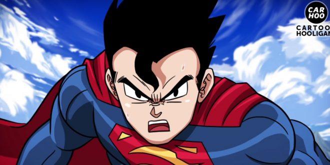 Fã reúne Liga da Justiça e Dragon Ball Z em animação